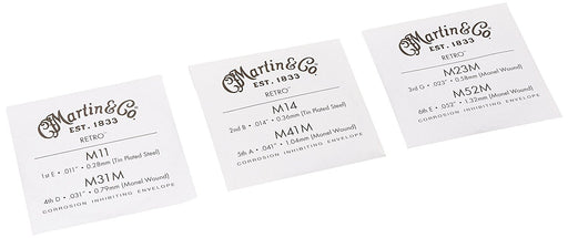 C.F. Martin MM11 Acoustic Guitar String Set Spokane sale Hoffman Music 729789418461
