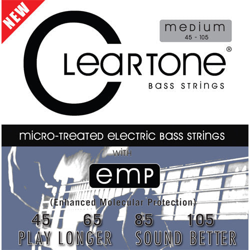 Cleartone 6445 Bass Guitar String Set Spokane sale Hoffman Music 786136064450