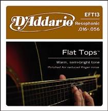 D'Addario EFT13 Acoustic Guitar String Set Spokane sale Hoffman Music 019954121211
