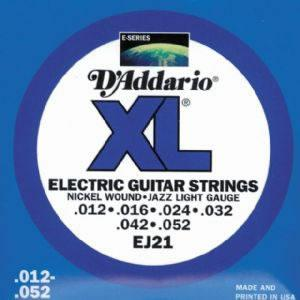 D'Addario EJ21 Electric Guitar String Set Spokane sale Hoffman Music 019954141325