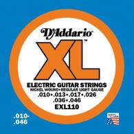 D'Addario EXL110 Electric Guitar String Set Spokane sale Hoffman Music 019954141271
