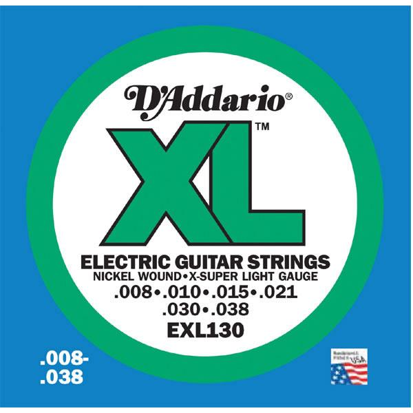 D'Addario EXL130 Electric Guitar String Set Spokane sale Hoffman Music 019954141318