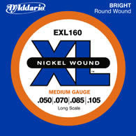 D'Addario EXL160 Bass Guitar String Set Spokane sale Hoffman Music 019954151249