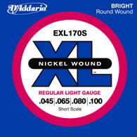D'Addario EXL170-S Bass Guitar String Set Spokane sale Hoffman Music 019954925420