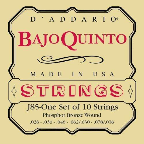 D'Addario J85 Banjo String Set Spokane sale Hoffman Music 019954953393