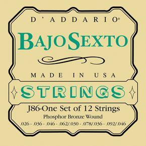 D'Addario J86 Banjo String Set Spokane sale Hoffman Music 019954953386