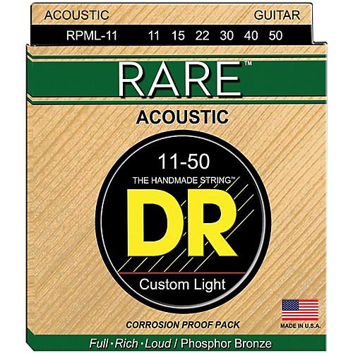 DRSTRINGS RPM-L Acoustic Guitar String Set Spokane sale Hoffman Music 600781000819