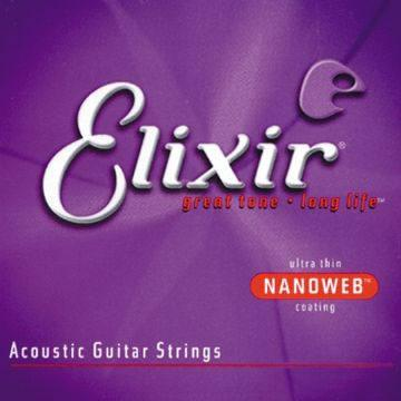 Elixir 11102 Acoustic Guitar String Set Spokane sale Hoffman Music 733132111022
