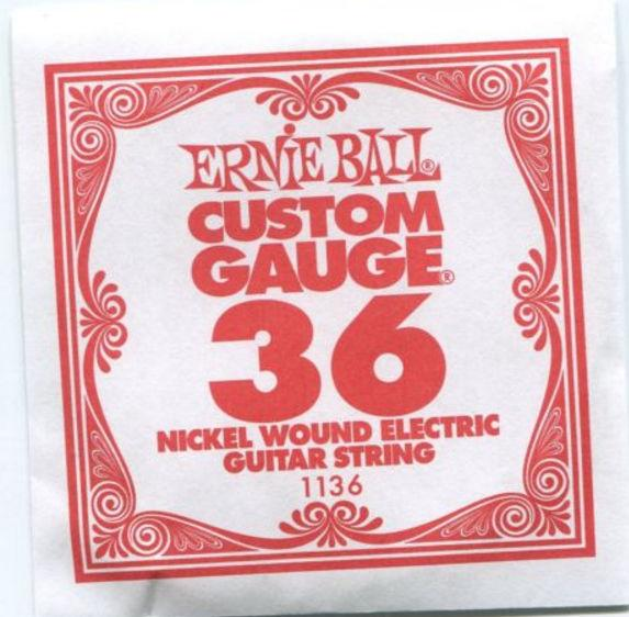 Ernie Ball 1136 Electric Guitar Single String Spokane sale Hoffman Music 749699111368