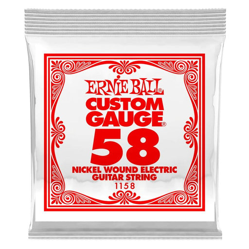 Ernie Ball 1158 Electric Guitar Single String Spokane sale Hoffman Music 749699111580