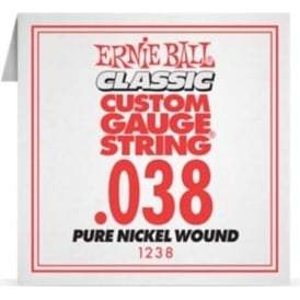 Ernie Ball 1238 Acoustic Guitar Single String Spokane sale Hoffman Music 749699118381