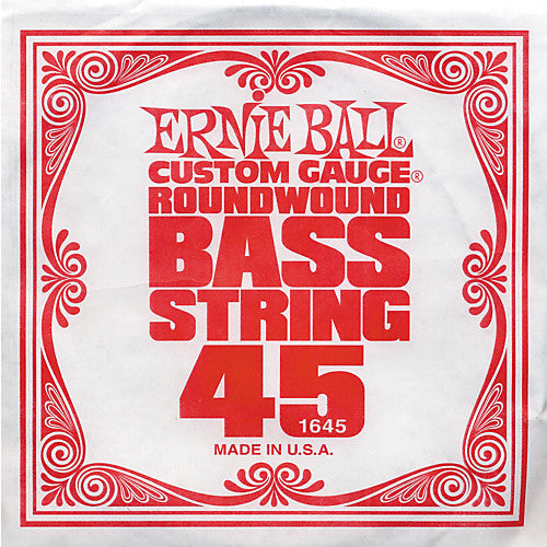 Ernie Ball 1645 Electric Bass Guitar Single String Spokane sale Hoffman Music 749699116455