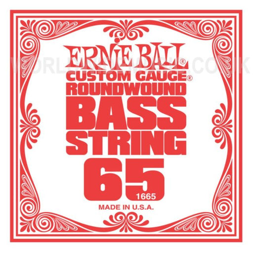 Ernie Ball 1665 Electric Bass Guitar Single String Spokane sale Hoffman Music 749699116653