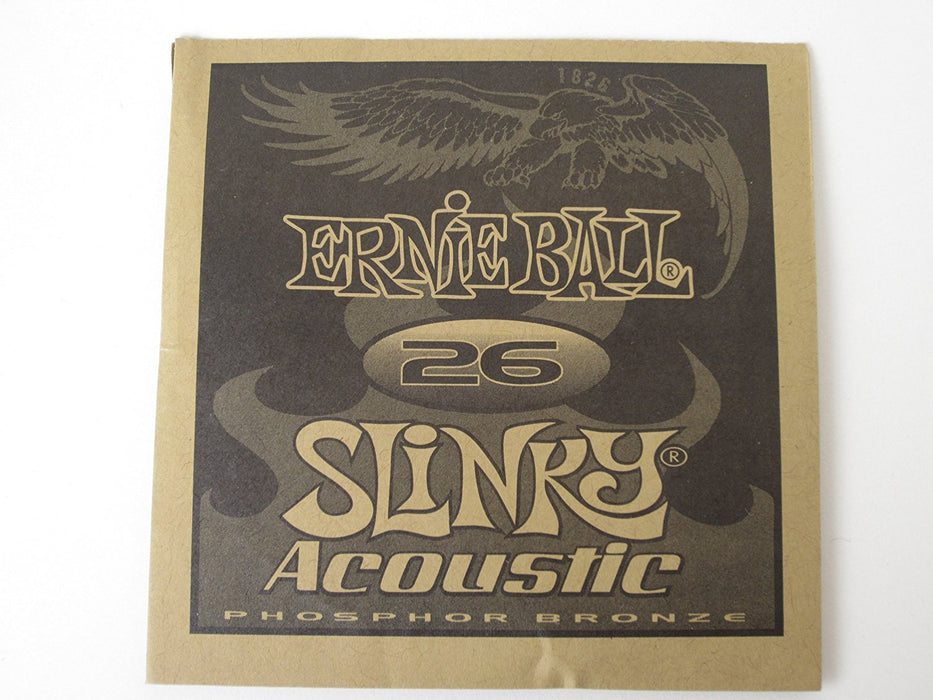 Ernie Ball 1826 Acoustic Guitar Single String Spokane sale Hoffman Music 749699118268