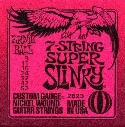 Ernie Ball 2623 Electric Guitar String Set Spokane sale Hoffman Music 749699126232