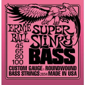 Ernie Ball 2834 Bass Guitar String Set Spokane sale Hoffman Music 749699128342