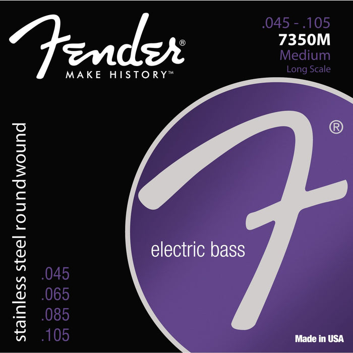 Fender 7350M Bass Guitar String Set Spokane sale Hoffman Music 717669852962