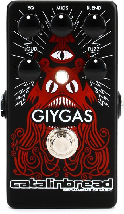 Fender Giygas Fuzz Guitar Effects Pedal Spokane sale Hoffman Music 853710006110
