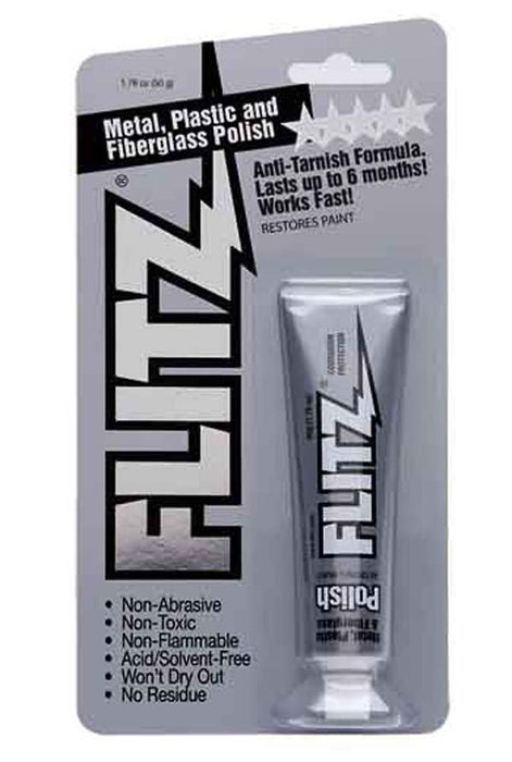 Flitz A902 Metal Polish Spokane sale Hoffman Music 065925135114