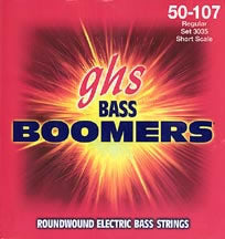 GHS Boomers 3035 Bass Guitar String Set Spokane sale Hoffman Music 737681004477