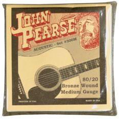 John Pearse P300M Acoustic Guitar String Set Spokane sale Hoffman Music 633687103018