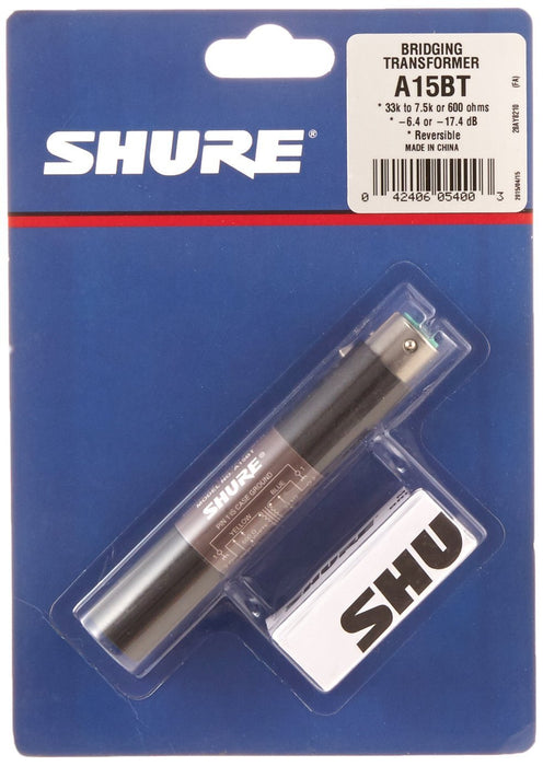 Shure A15BT Transformer Spokane sale Hoffman Music 042406054003