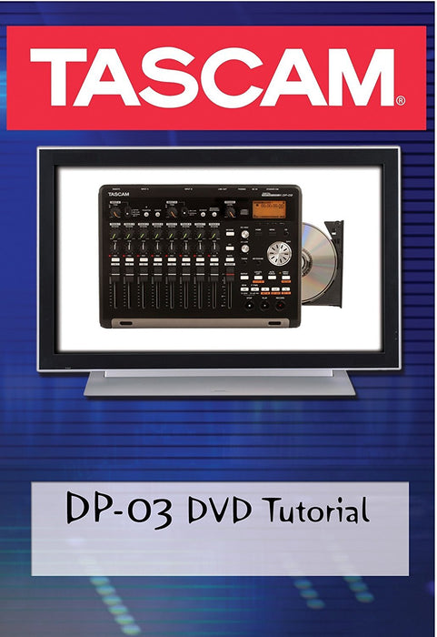 Tascam DP-03 DVD DVD Spokane sale Hoffman Music 36600033