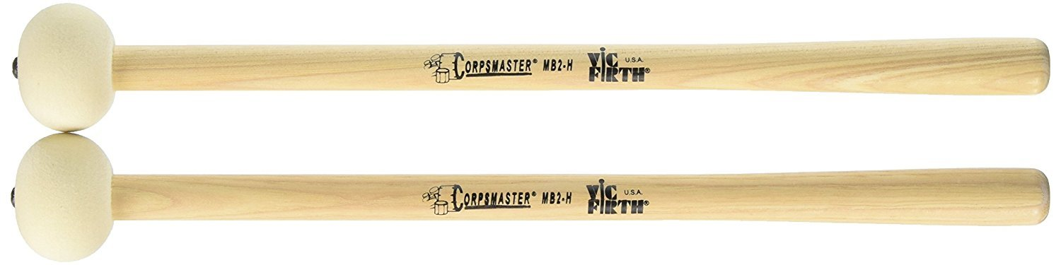 Vic Firth MB2-H Bass Drum Mallets Spokane sale Hoffman Music 750795001613