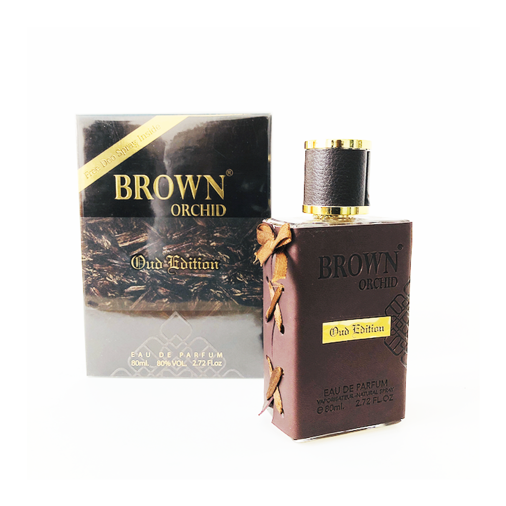 Fragrance World BROWN ORCHID OUD EDITION Eau De Parfum 80ml Unisex
