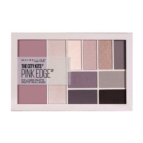 MAYBELLINE EYESHADOW PALETTE THE CITY KITS PINK EDGE Eye + Cheek 15G