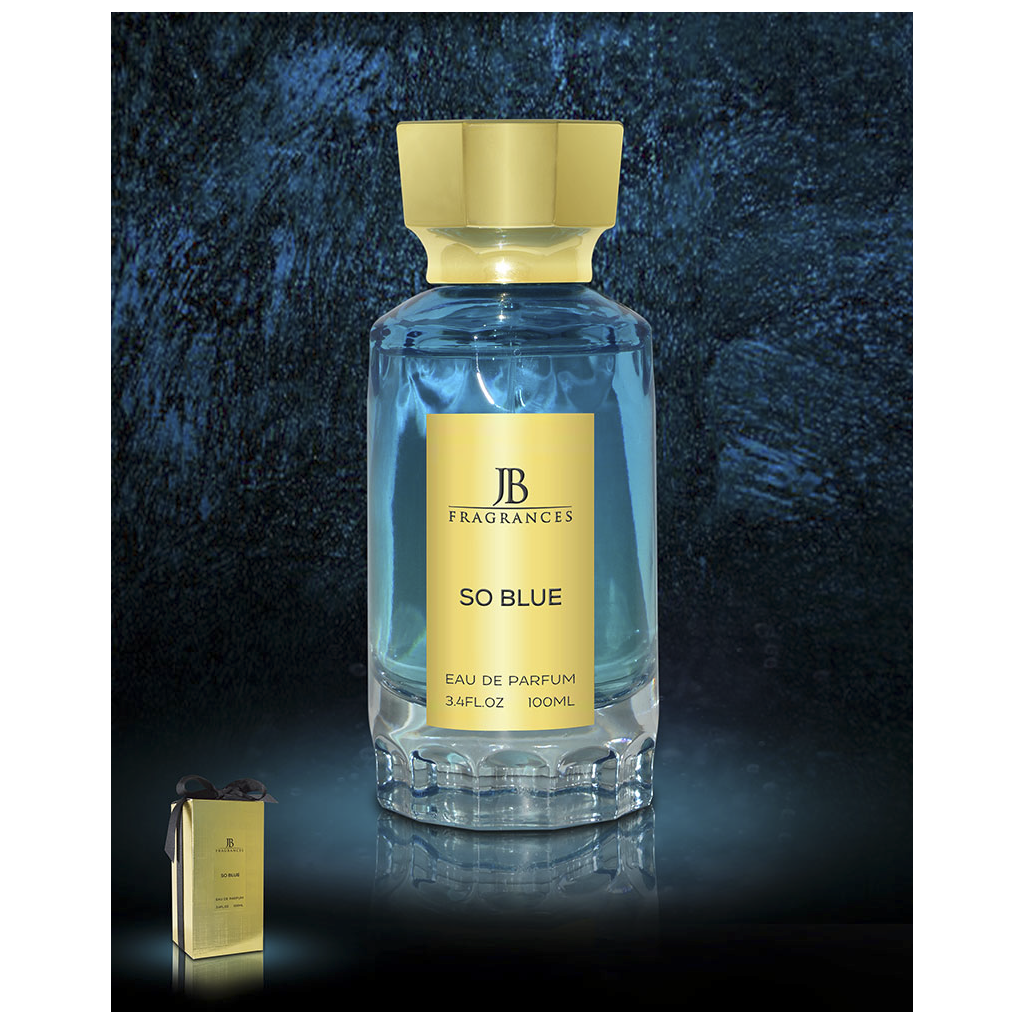 JB FRAGRANCES SO BLUE 100ML EDP