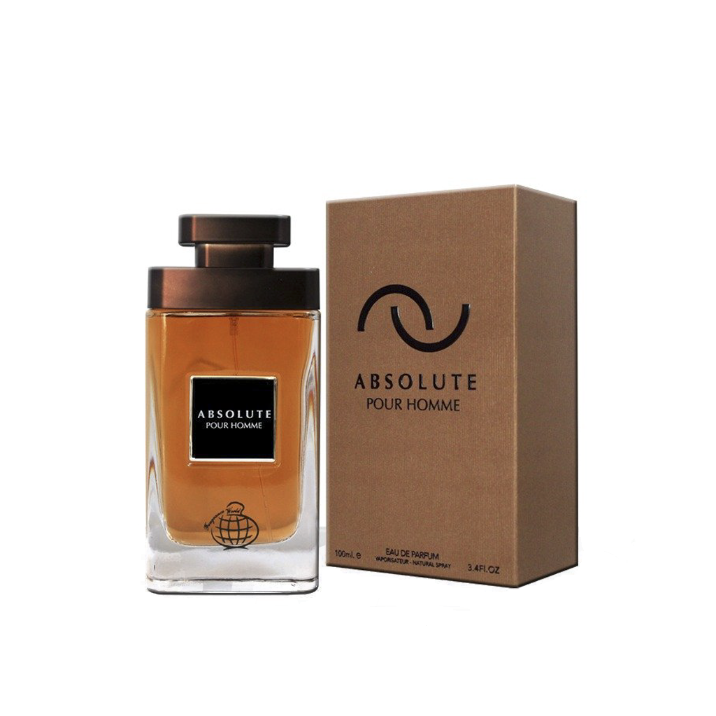 FRAGRANCE WORLD Absolute Pour Homme 100ml EDP
