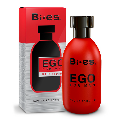 Ego For Man Red Edition Eau De Toilette 100ml