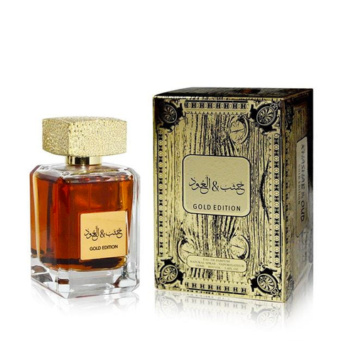 ARABIYAT Kashab & Oud Gold Edition EAU DE PARFUM 100ML UNISEX www.laurenjayparis.co.uk