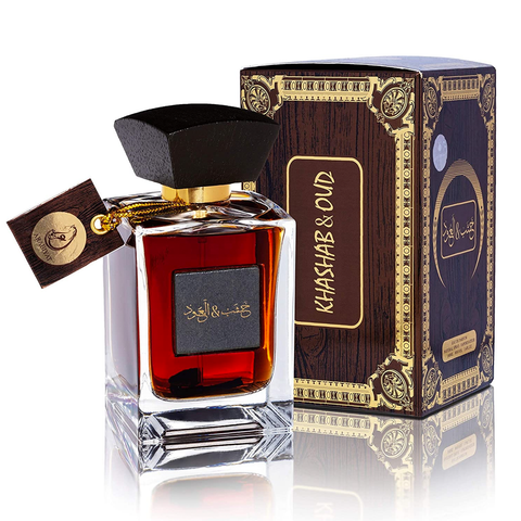 ARABIYAT KHASHAB & OUD  EAU DE PARFUM 100ML UNISEX  www.laurenjayparis.co.uk