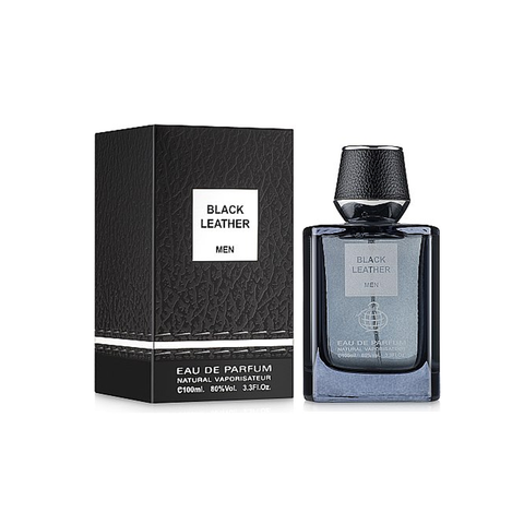 Fragrance World Black Leather Eau De Parfum 100ml Unisex