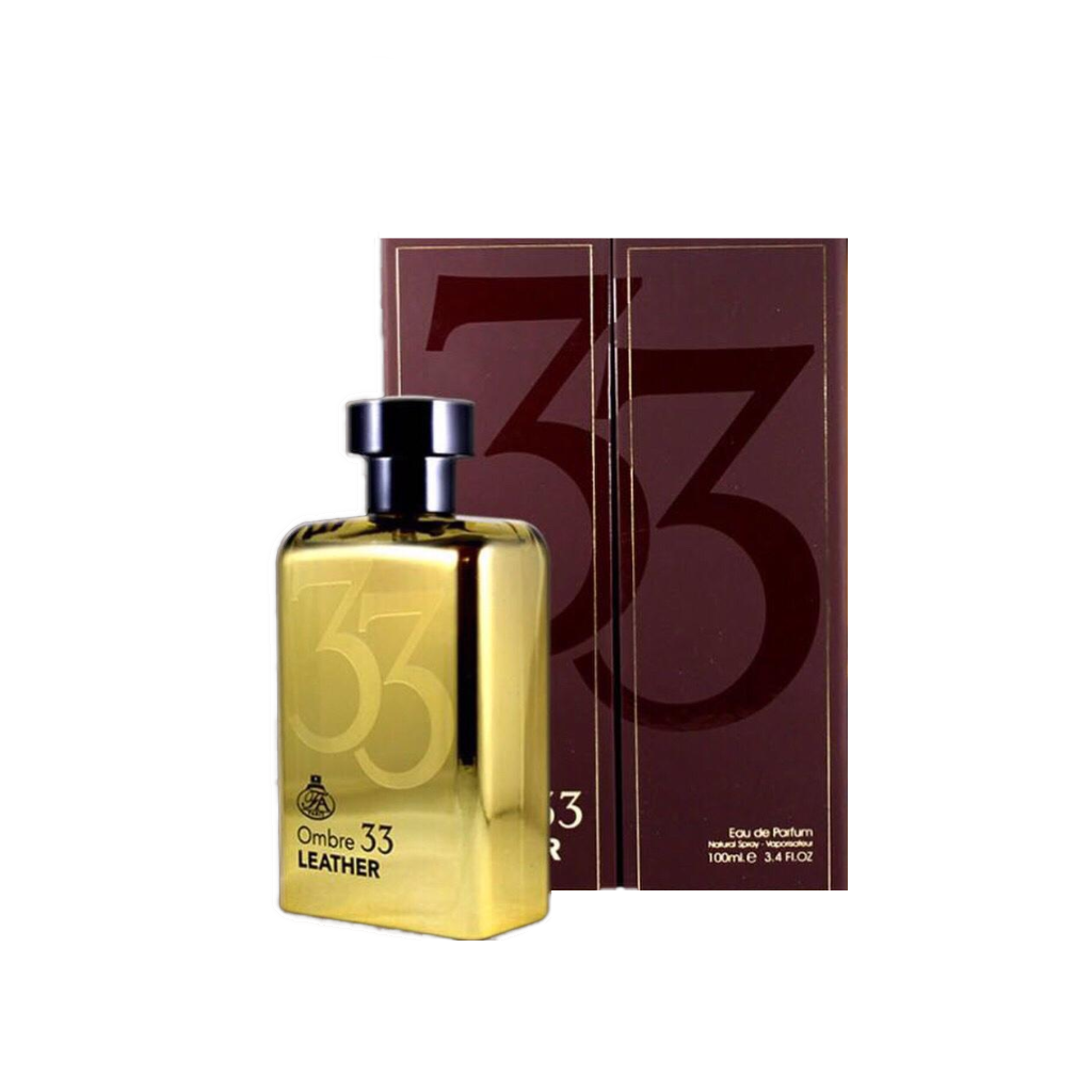 Fragrance World Ombre 33 Leather Eau De Parfum 100ml UNISEX