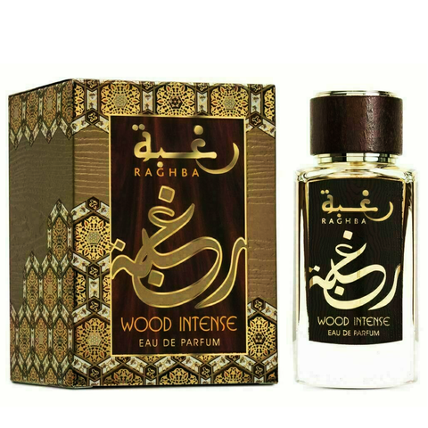 Raghba Wood Intense Eau De Parfum 100ml