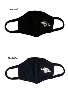 REFLECTIVE MEIRLIN LOGO COTTON MOUTH MASK [UNISEX]