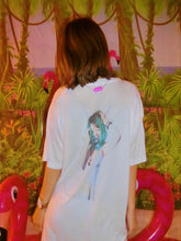 MEIRLIN BACK PRINT TEE - WHITE(Free Size)