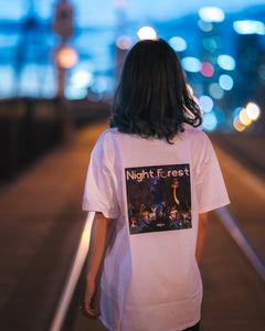 [Pre-Order] LOGO x NIGHT FOREST TEE - FRONT & BACK PRINT [S-2XL]