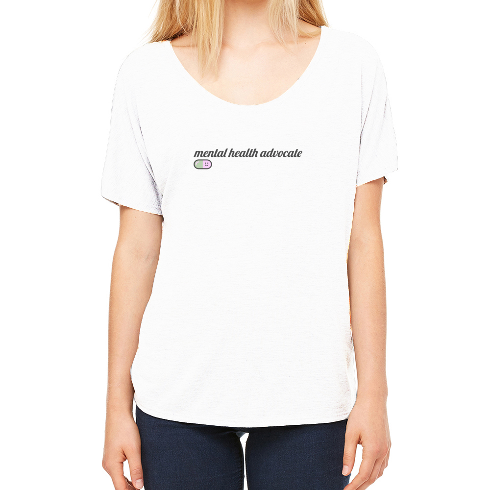 Mental Health Advocate Sexy Slouchy T-Shirt