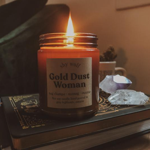 Gold Dust Woman - Soy Candle