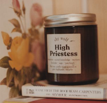 High Priestess - Soy Candle