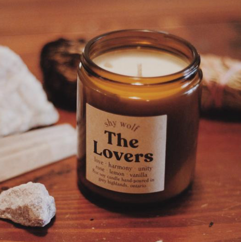 The Lovers - Soy Candle