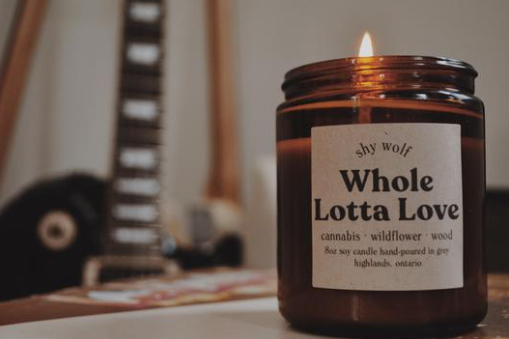 Whole lotta Love - Soy Candle