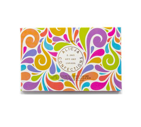 Alicja Confections, Postcard chocolate bar, Freewheeling Craft, Made in Ottawa, Made in Canada, Handmade in Ottawa, Ottawa gift guide, Ottawa shopping, Shop local Ottawa