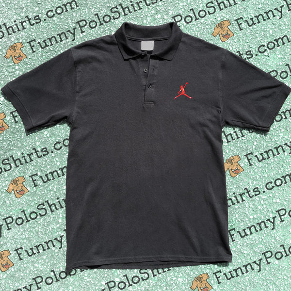 Air Jackson - Air Jordan Parody - Funny Polo Shirt - Polo Preview