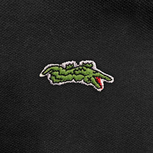 Dead Gator - Lacoste Parody - Funny Polo Shirt - Zoomed