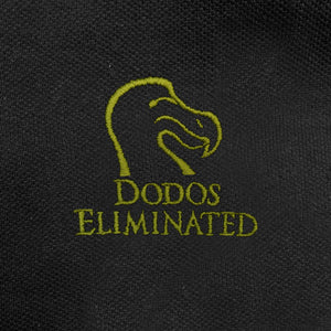 Dodos Eliminated - Ducks Unlimited Parody - Funny Polo Shirt - Zoomed
